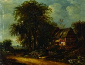 After Richard H… Hilder (1813-1852) British. A Country