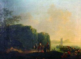 Johann Alexander Thiele (1685-1752) Dutch. Figures On