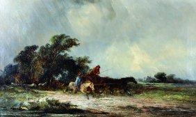 """George Augustus Williams (1814-1901) British. """"going To"""