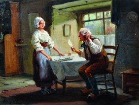 Alexander Rossell (1859-1922) British. 'the Letter',
