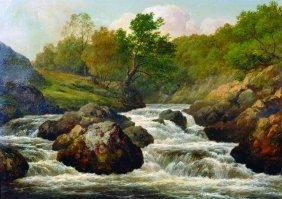 Edmund Ward 'waterfall' Gill (1820-1894) British.