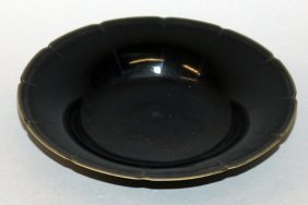 A Chinese Song Style Black Glazed Porcelain Dish, With
