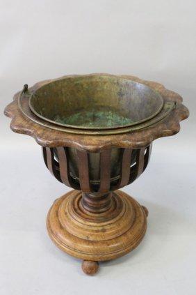 41. A Dutch Mahogany Bucket.