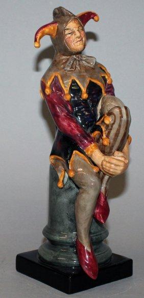 "135. A Royal Doulton Figure ""the Jester"", No. Hn2016,"