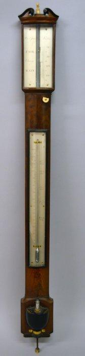 308. A Good 19th Century Mahogany Bowfront Stick