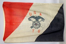 447. An American Army Transport Service Flag, Circa.
