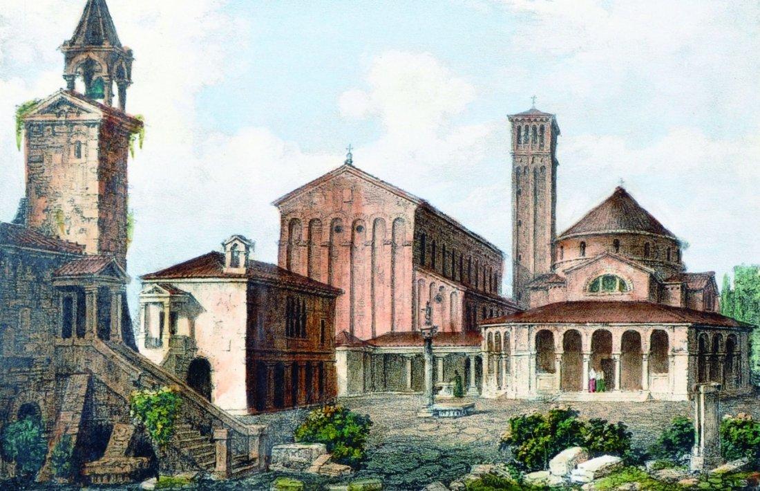 20th Century Italian School. 'Venezia, Avanzi