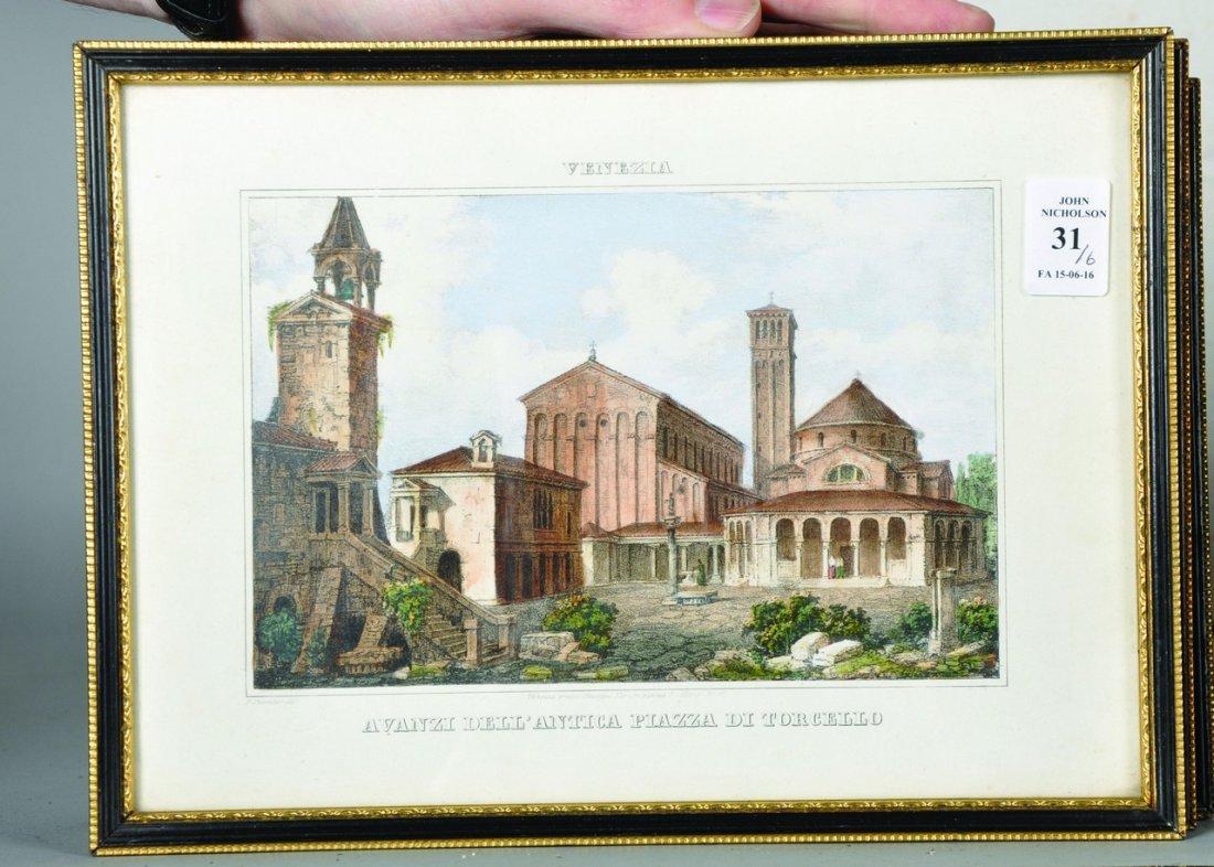 20th Century Italian School. 'Venezia, Avanzi - 2