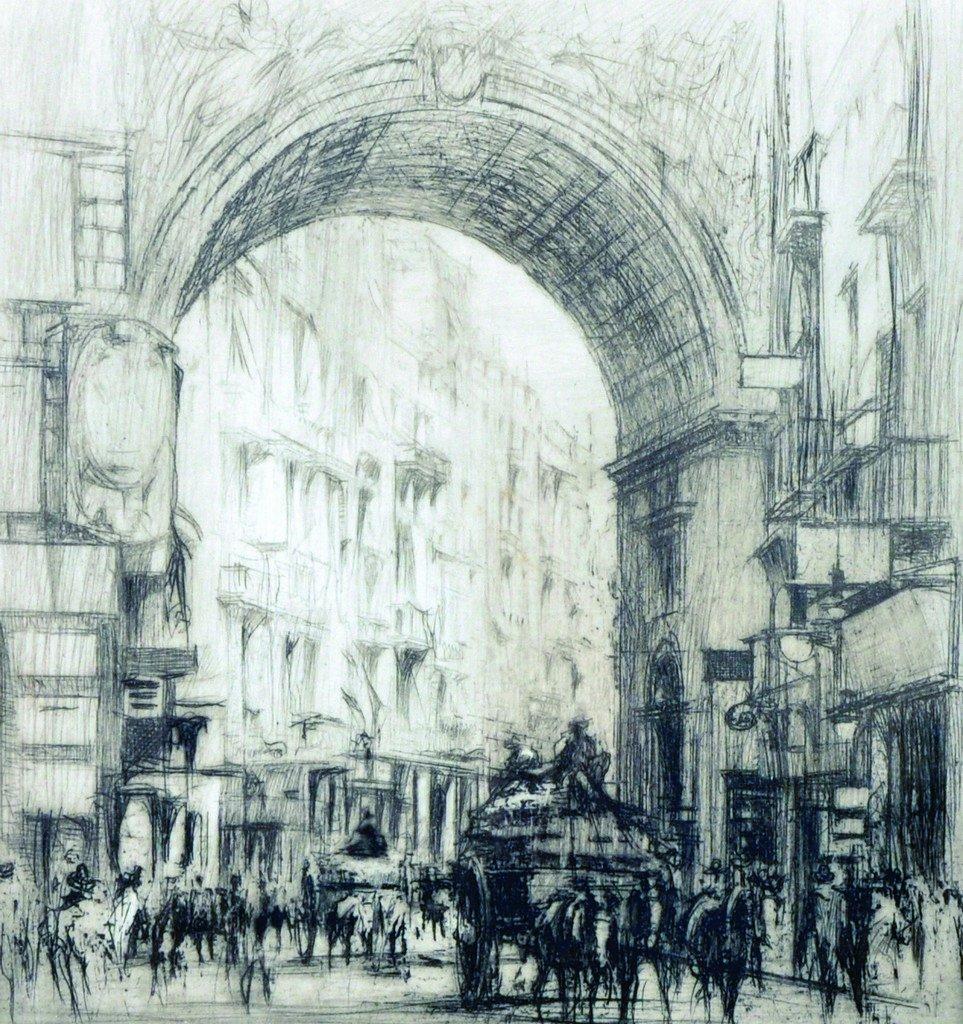 William Walcot (1874-1943) British. 'A Sacred Fair',