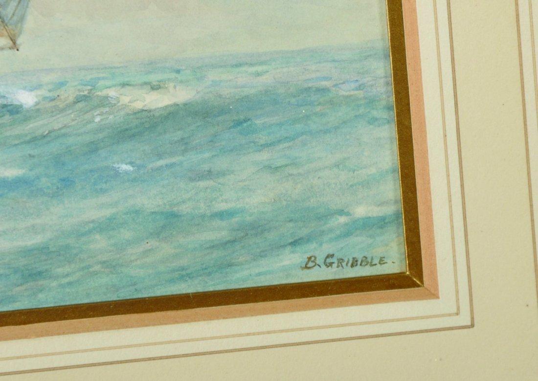Bernard Finegan Gribble (1873-1962) British. A Clipper - 3