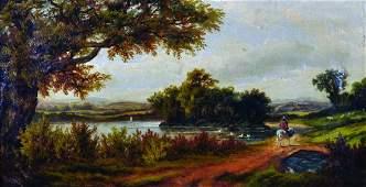 G Thompson 19th  20th Century British A River