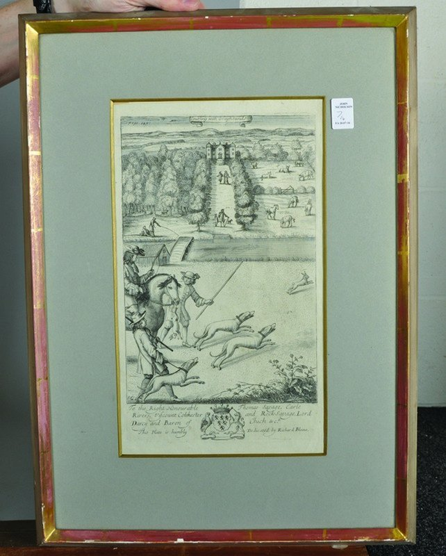 "After Jan Wyck (1644-1702) Dutch. ""The Manag'd Horses"", - 3"