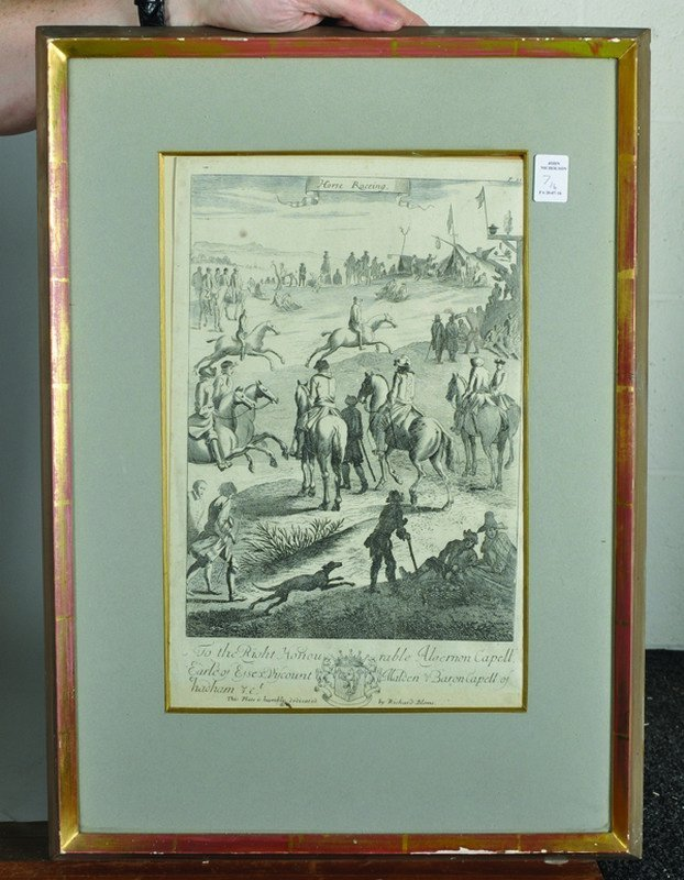 "After Jan Wyck (1644-1702) Dutch. ""The Manag'd Horses"", - 4"