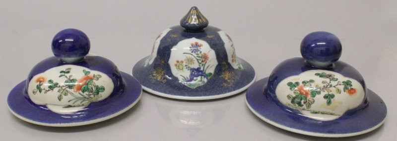 A PAIR OF 19TH CENTURY CHINESE FAMILLE VERTE &