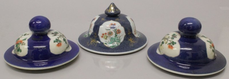 A PAIR OF 19TH CENTURY CHINESE FAMILLE VERTE & - 2
