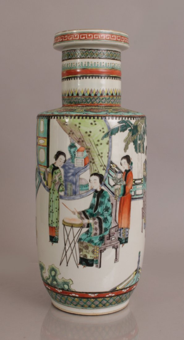 A 19TH/20TH CENTURY CHINESE FAMILLE VERTE PORCELAIN