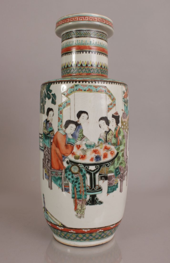 A 19TH/20TH CENTURY CHINESE FAMILLE VERTE PORCELAIN - 3