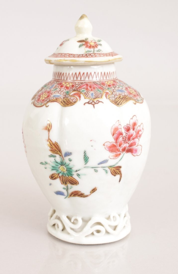 AN 18TH CENTURY CHINESE QIANLONG PERIOD FAMILLE ROSE - 3