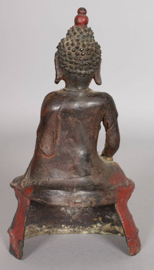 AN 18TH/19TH CENTURY SOUTH-EAST ASIAN GILT BRONZE - 2
