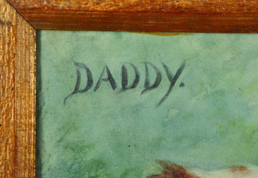"""Francis C... Fairman (1836-1923) British. """"Daddy"""", a - 3"""