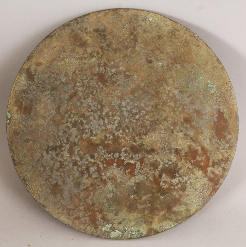 A GROUP OF THREE CHINESE TANG STYLE BRONZE CIRCULAR - 10