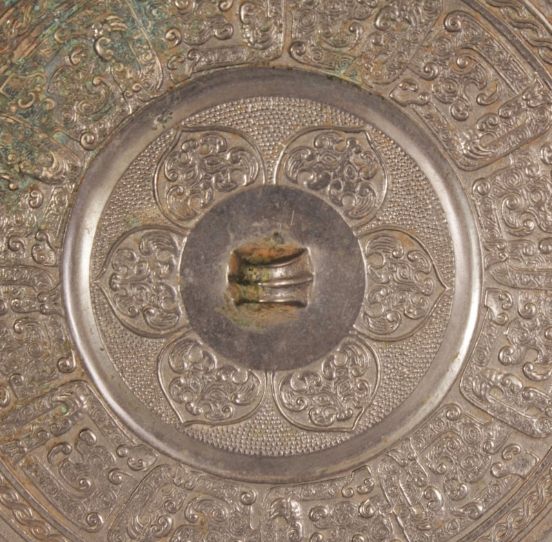 A GROUP OF THREE CHINESE TANG STYLE BRONZE CIRCULAR - 3