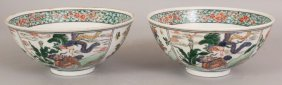A PAIR OF 19TH/20TH CENTURY CHINESE KANGXI STYLE