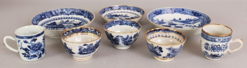 A GROUP OF THREE 18TH CENTURY CHINESE QIANLONG PERIOD