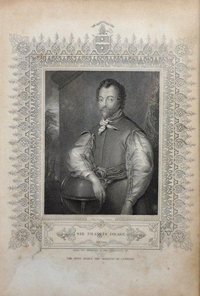 18th Century English School. Portrait of Sir Francis