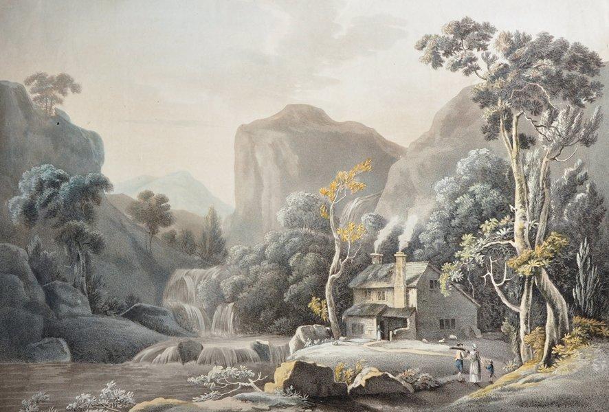 """After Thomas Walmsley (1763-1806) British. """"View at"""