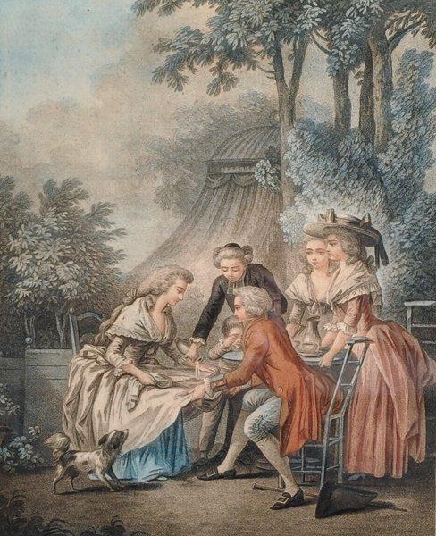 After Jean-Baptiste Huet (1745-1811) French. 'Le
