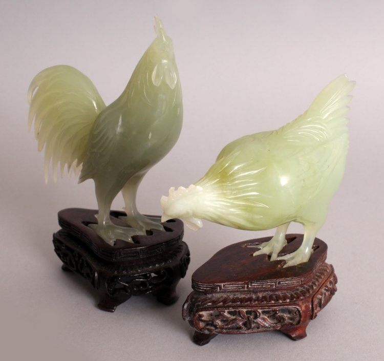 AN UNUSUAL SET OF 20TH CENTURY CHINESE CELADON GREEN - 6