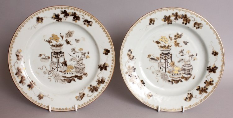 A PAIR OF 18TH CENTURY CHINESE QIANLONG PERIOD