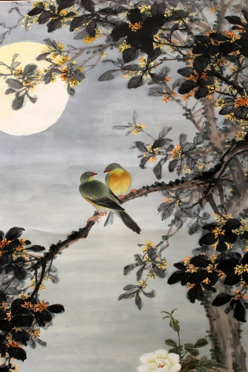 ANOTHER 20TH CENTURY CHINESE HANGING PAINTING ON PAPER,