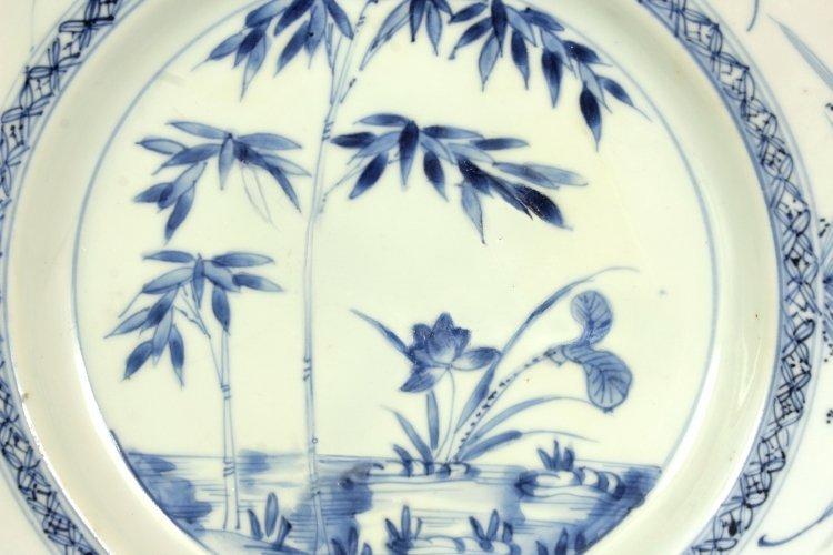 A CHINESE YONGZHENG PERIOD BLUE & WHITE PORCELAIN - 2