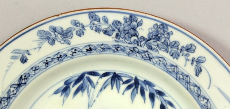 A CHINESE YONGZHENG PERIOD BLUE & WHITE PORCELAIN - 3