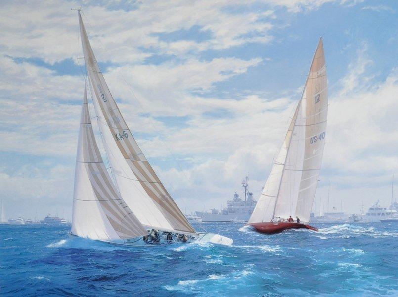 """John Steven Dews (1949-    ) British. """"Australia 11"""