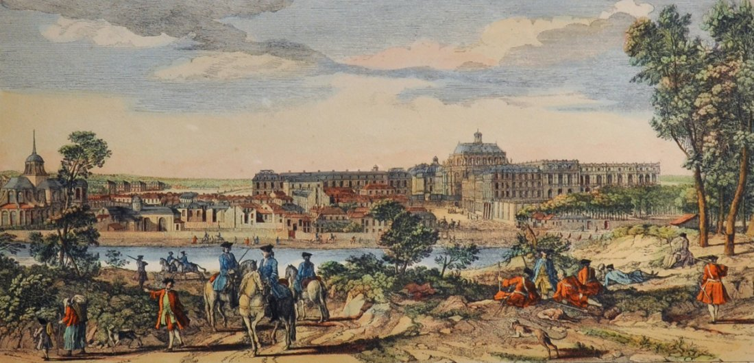 """After Jacques Rigaud (c.1681-1754) French. """"Vue Du"""