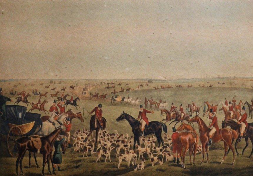 "After Henry Alken (1810-1894) British. ""The Quorn"