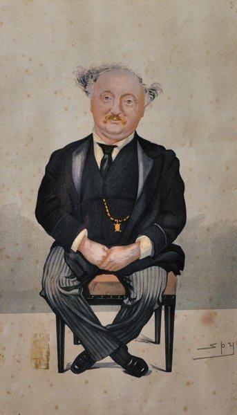 After Leslie Matthew Ward (Spy), (1851-1922) British.