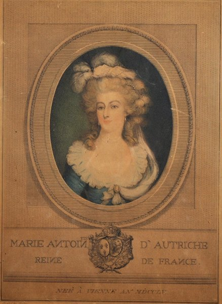 19th Century French School. Portrait of Marie