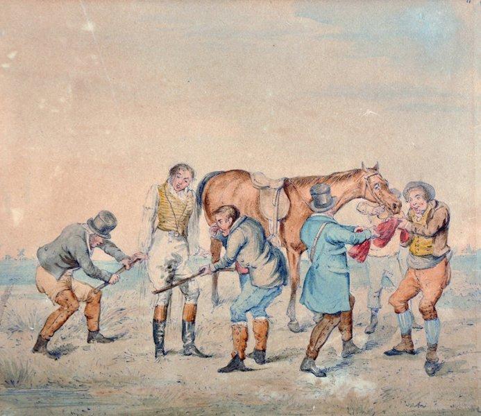 Attributed to Henry Alken (1810-1894) British. Hunting - 3