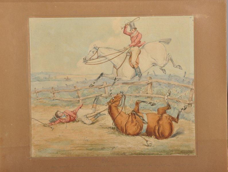 Attributed to Henry Alken (1810-1894) British. Hunting - 6