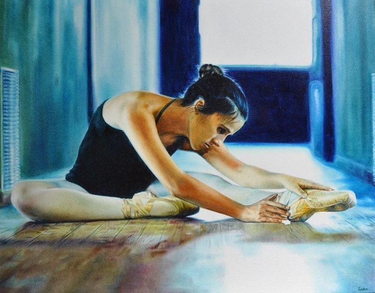 Alfredo Soria (1981-    ) Cuban. Study of a Ballet