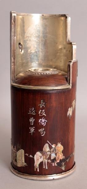 A GOOD QUALITY 19TH/20TH CENTURY CHINESE INLAID