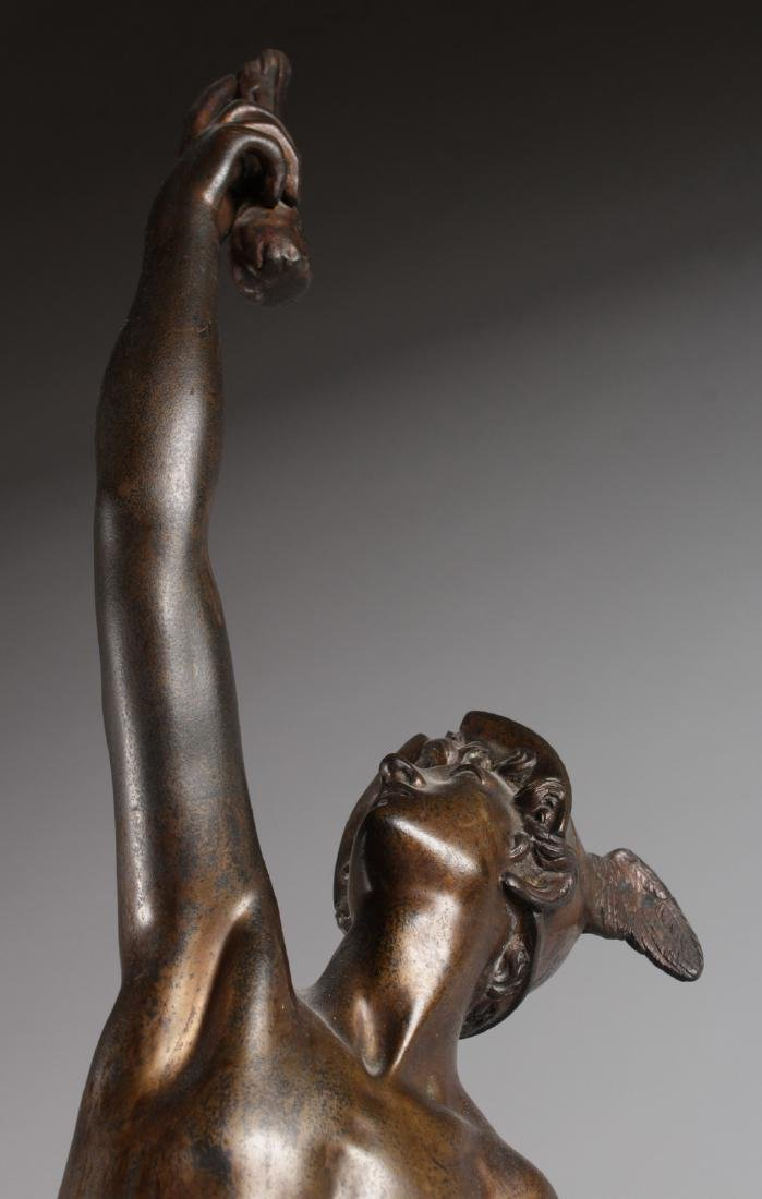 AFTER GIAMBOLOGNA  A SUPERB LARGE STANDING BRONZE OF - 6