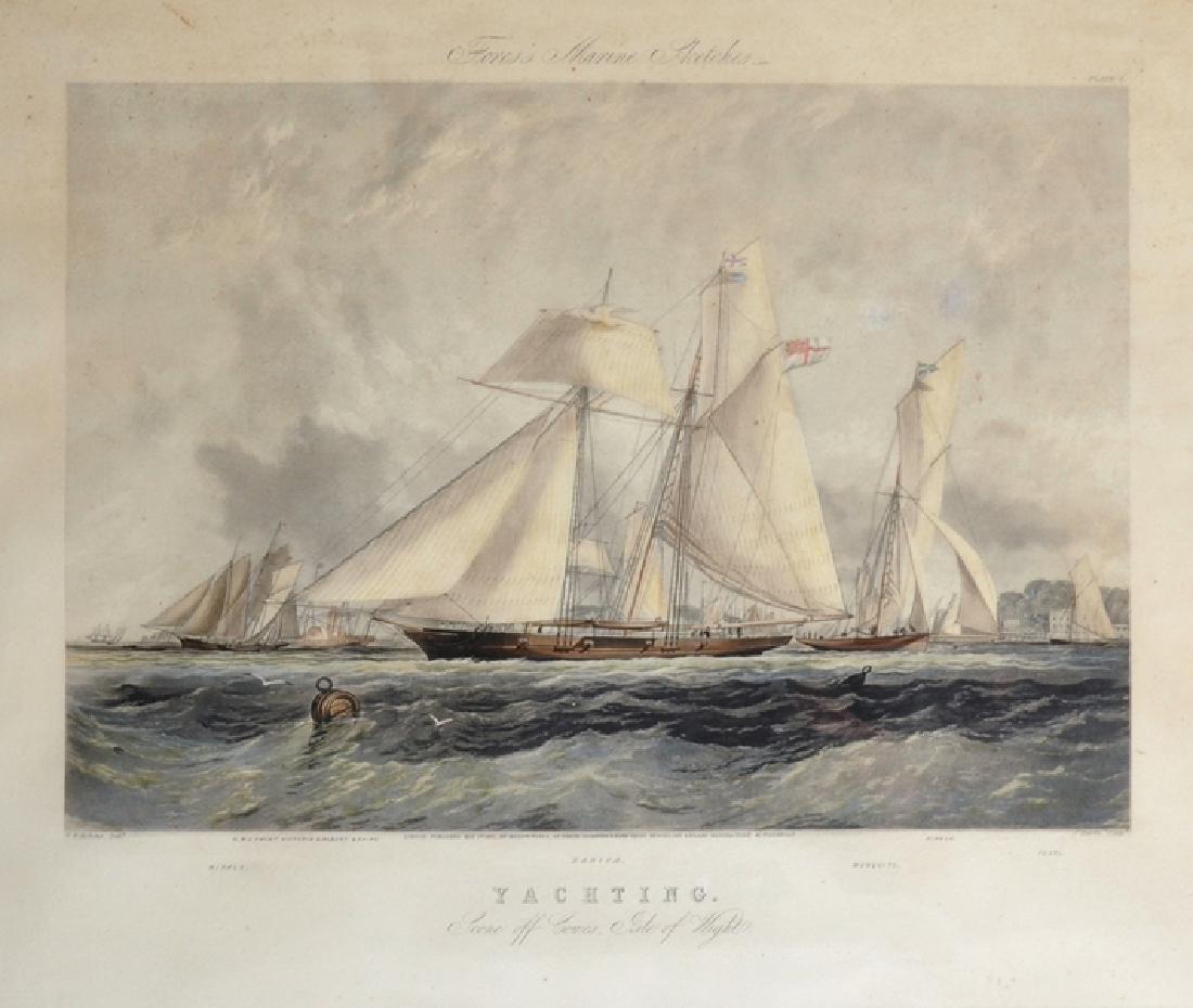"Thomas Sewell Robins (1810-1880) British. ""Yachting,"