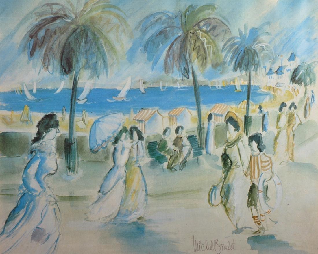 After Michel Boulet (1936-   ) French. Elegant Figures