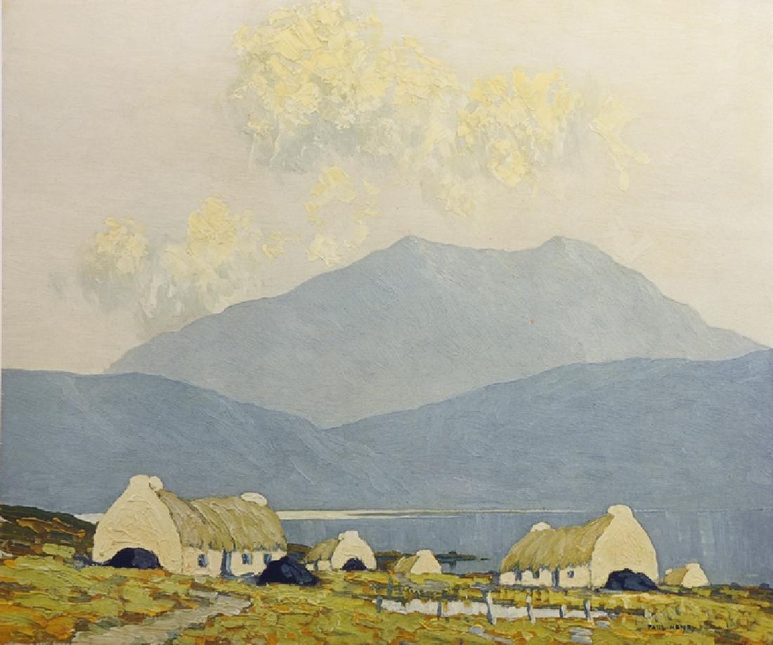 """Paul Henry (1876-1958) Irish. """"Evening on Killary Bay"""","""