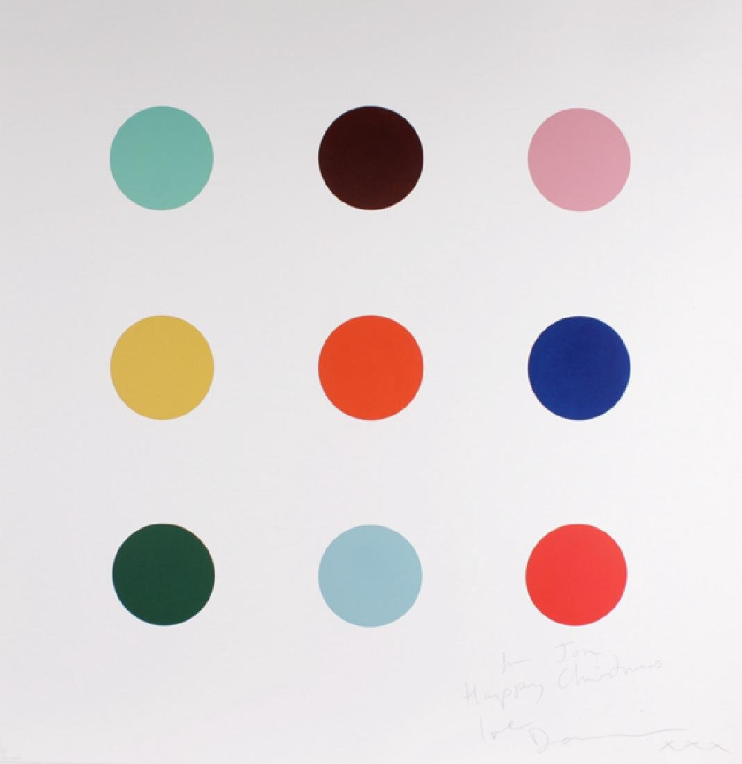 "Damien Hirst (1965-    ) British. ""Quene 1-AM"" (2004),"